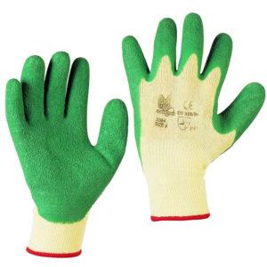 Guanti cotone verde 3084
