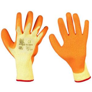 Guanti cotone arancio 3084A