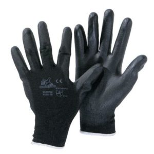 Guanto spalmato poliuretano nero 3350NE