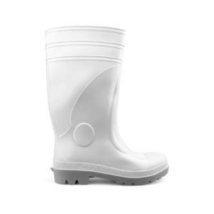 Stivale sicurezza PVC bianco 4024B