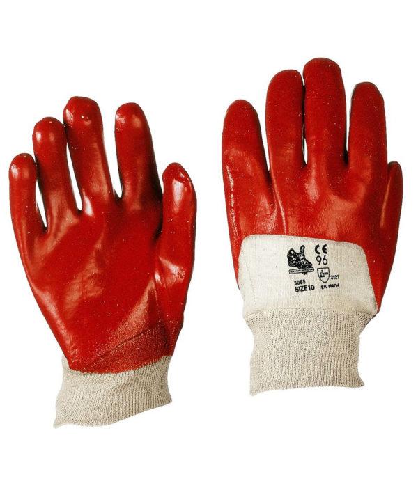 Guanto in PVC polso maglia 3065