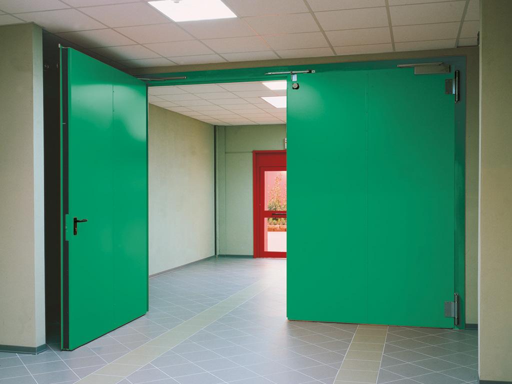Porte tagliafuoco caratteristiche e normative securfire for Porte tagliafuoco